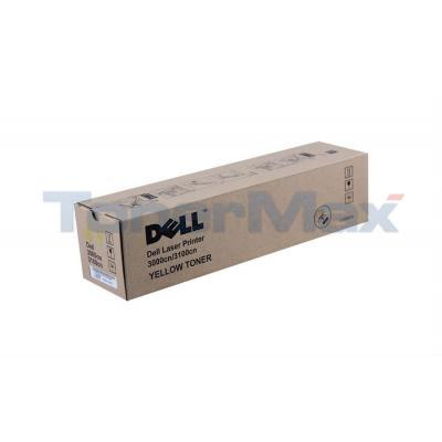 DELL 3000CN/3100CN TONER CART YELLOW 2K